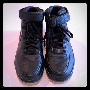 Nike air max black high top NWOB
